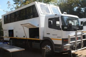 Переоборудованный грузовой автомобиль