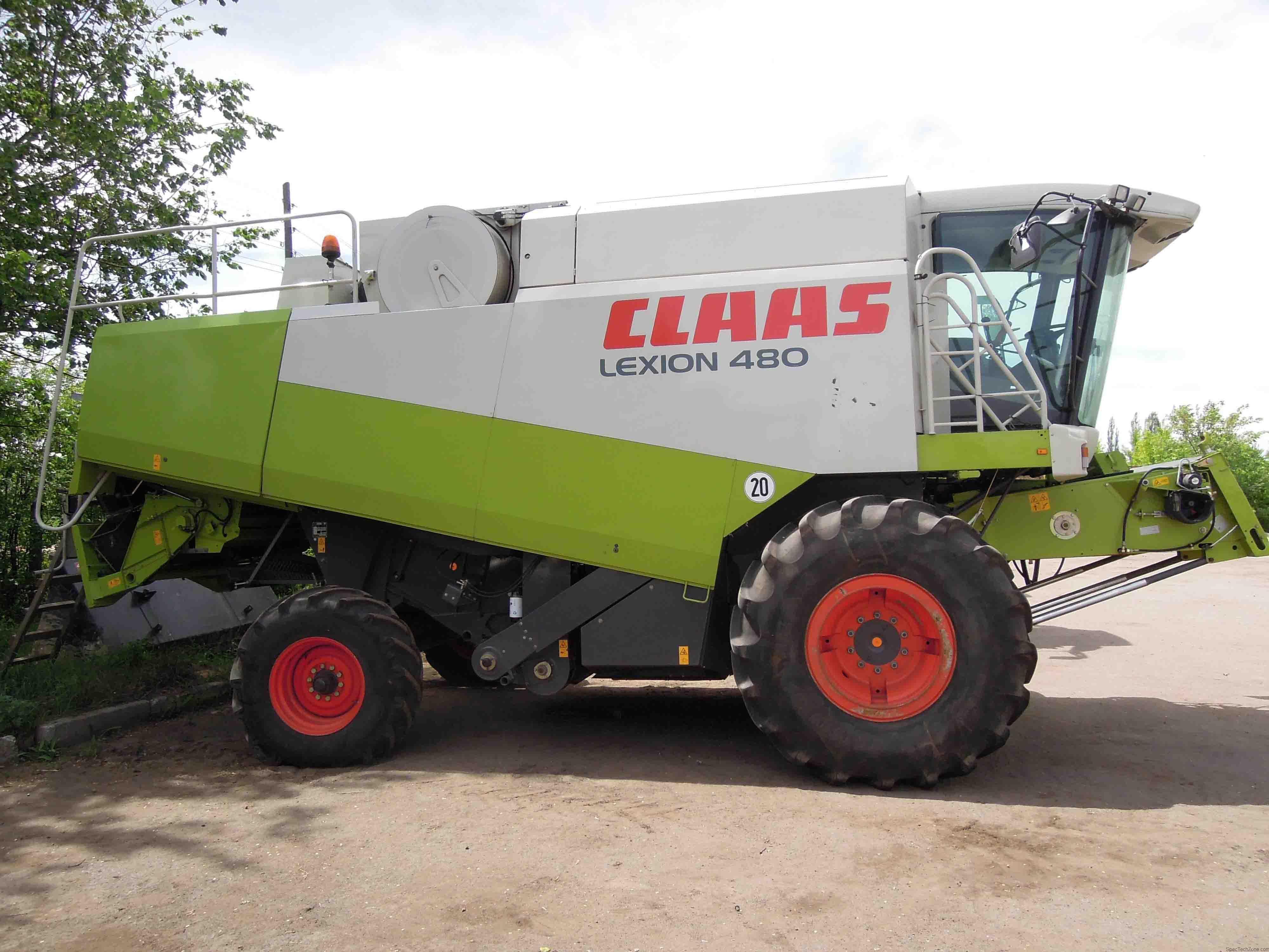 Комбайн Класс (Claas) LEXION-480
