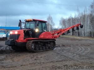 Гусеничный трактор Беларус описание
