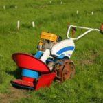 Описание и принцип работы роторной косилки для мотоблока