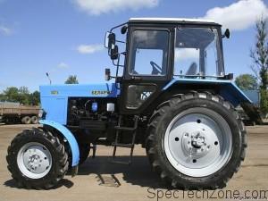 Тест-драйв трактора мтз 82