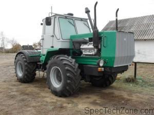 Тест-драйв трактора т 150