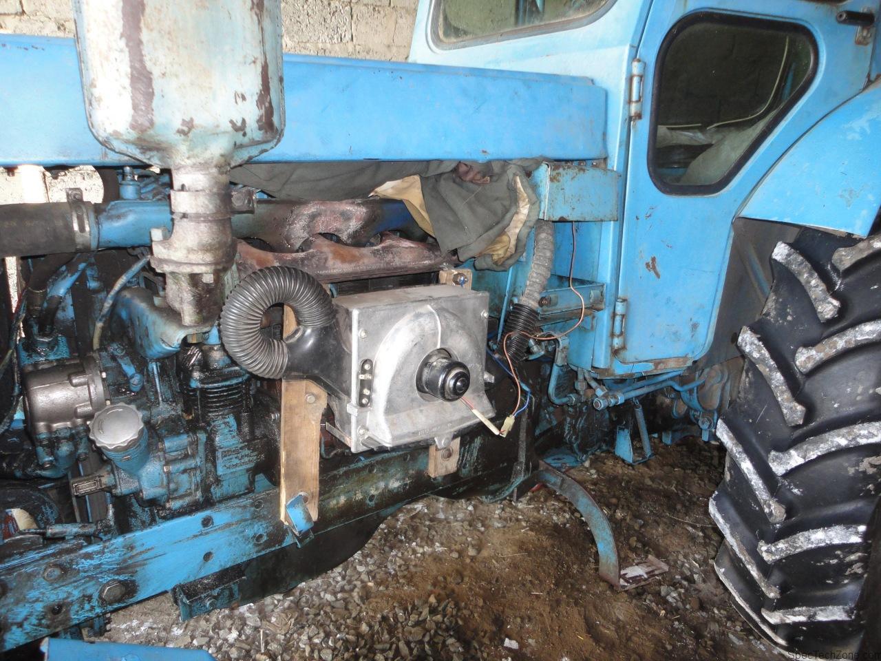 Трактор из маза своими руками 143