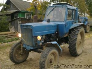 Трактор МТЗ-80 технические характеристики
