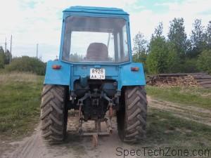 Трактор МТЗ-80 видео