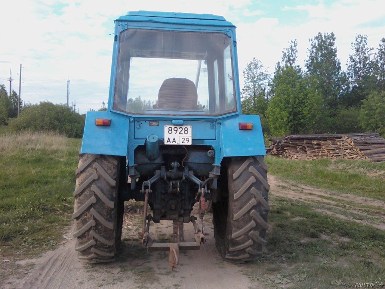 Трактор МТЗ-80 - описание, технические характеристики.