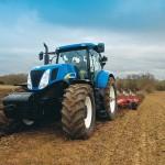 Трактор Нью Холланд видео