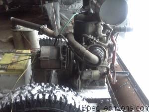Двигатель для самодельного трактора на гусеничном ходу