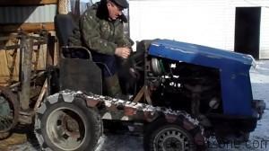 Изготовления самодельного гусеничного трактора
