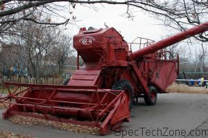 Комбайны зерноуборочные СК 4