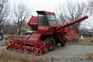 Зерноуборочный комбайн Нива
