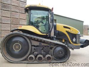 Гусеничный трактор Challenger MT765