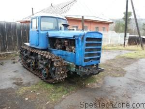 Гусеничный трактор ДТ-75 Н