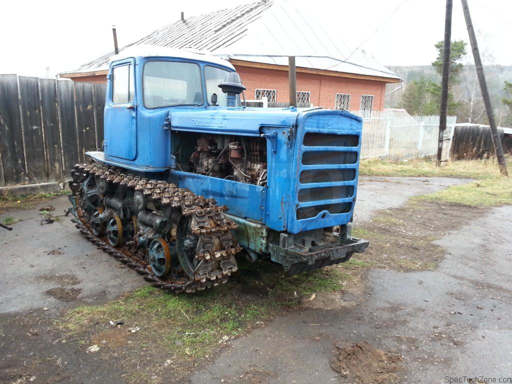 вес трактора дт 75 старого образца