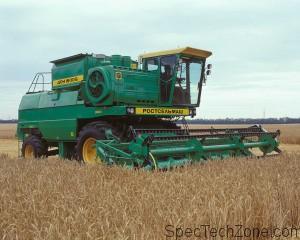 Краткое описание зерноуборочного комбайна Дон 1500