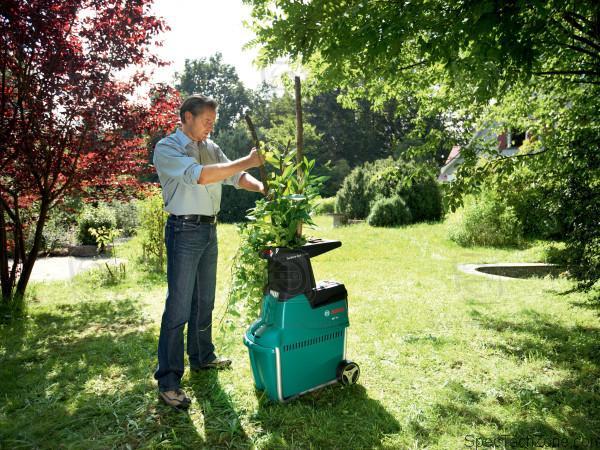 Измельчитель садовый электрический своими руками фото