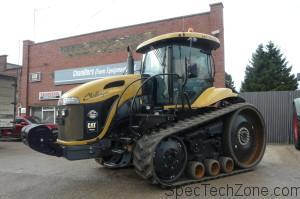 Система управления гусеничного трактора Challenger