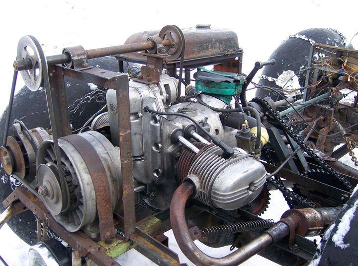 Двигатель до минитрактора своими руками