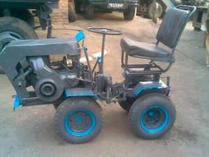 Мини тракторы самоделки