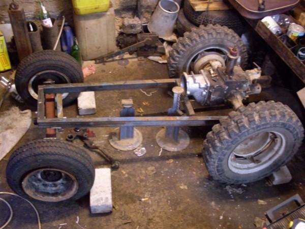 Как сделать простую трактора