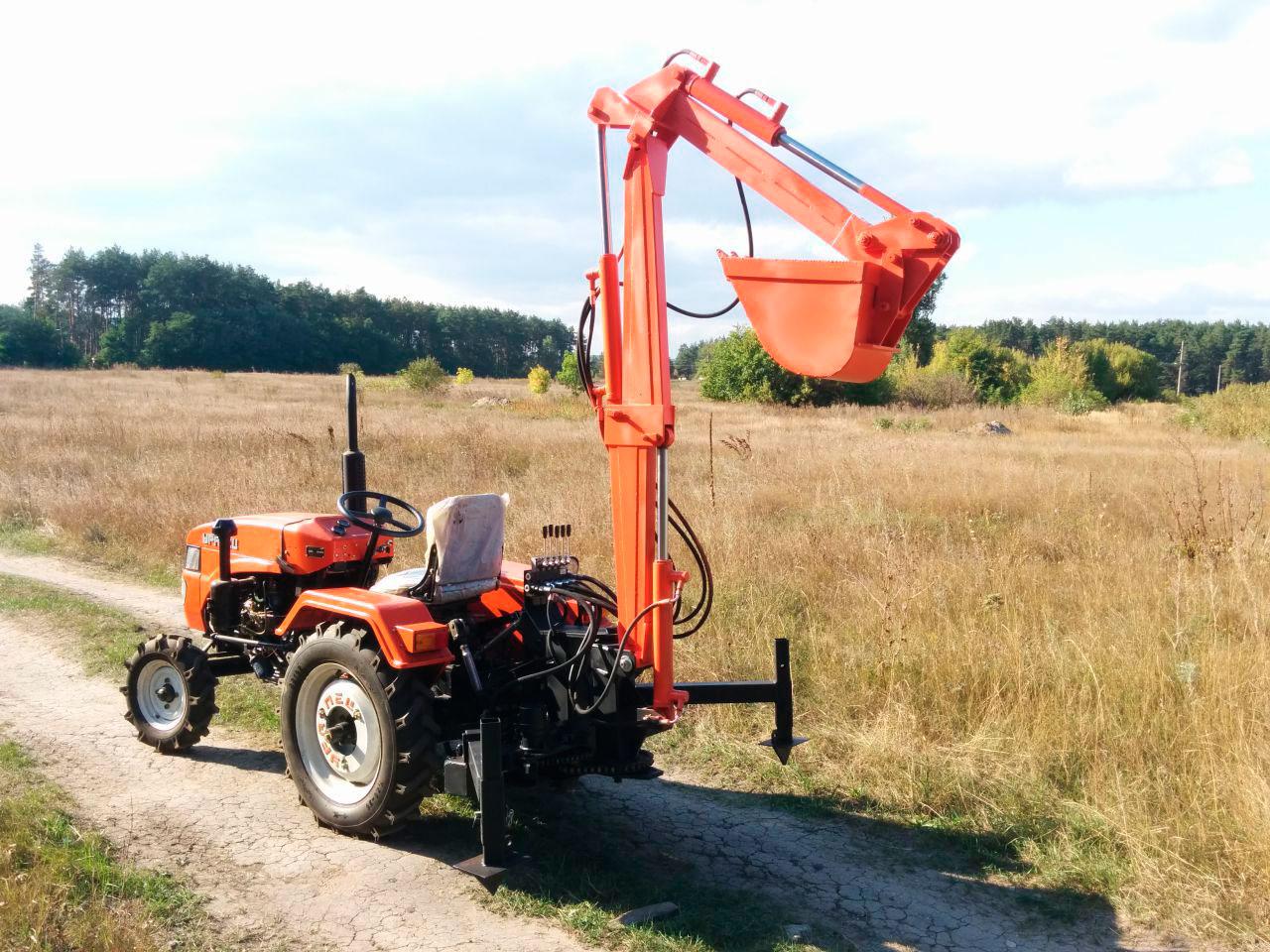 Навесное оборудование на трактор своими руками фото