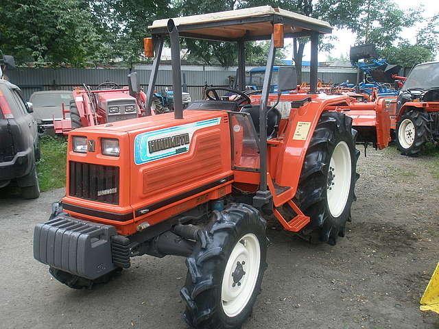 Мини тракторы Япония