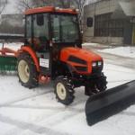 Как выбрать подходящий минитрактор для уборки снега?