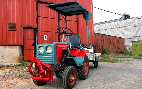 Российские мини тракторы