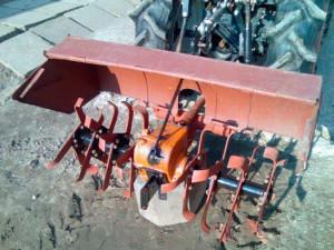 Самодельная почвофреза на минитрактор