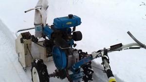 Снегоуборщик для мотоблока нева видео