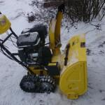 Снегоуборочная машина калибр
