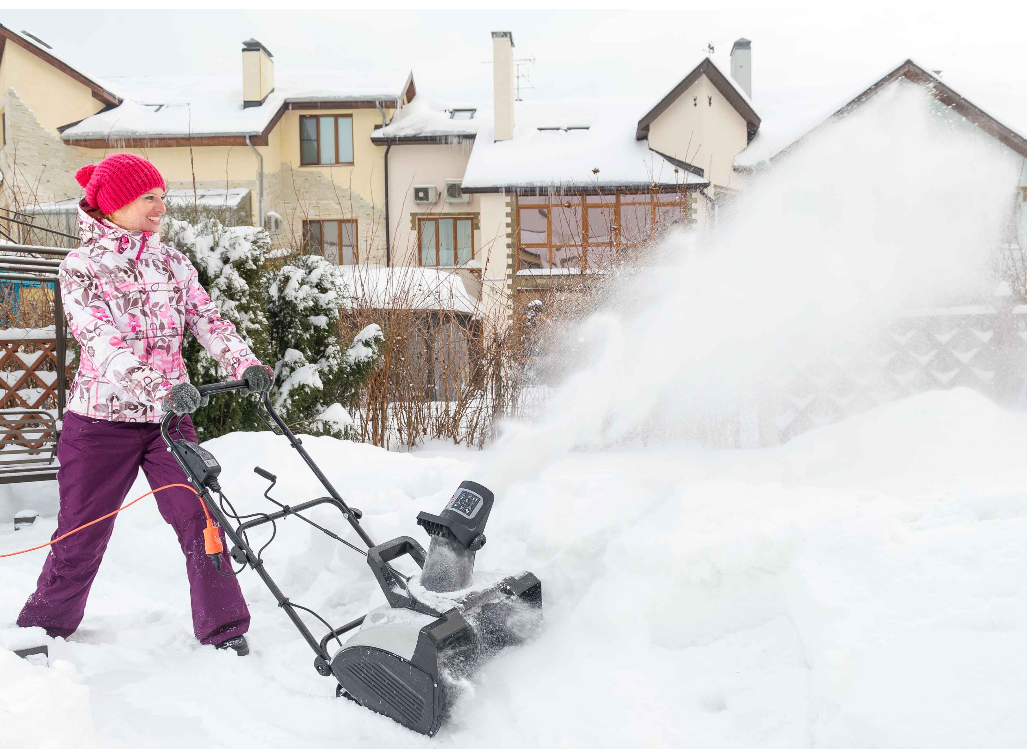 Снегоуборщик электрический hyundai s 400