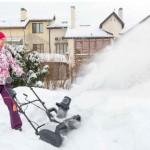 Снегоуборщик электрический хундай s 400