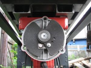 Двигатель виброплиты