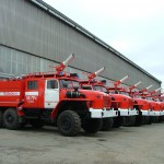 Пожарный автомобиль урал 5557