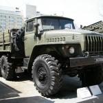 Экспонат Урал 4320