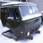 Кабина КамАЗа 55111 вид снаружи