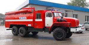 Пожарный урал 5557