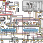 Схема электропроводки газ 3307