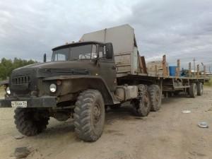 Урал 375 полуприцеп