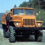 Урал 4320 устройство