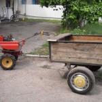Трактор мотоблок Нева МБ-1