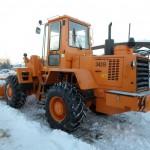 Амкодор 342В на снегу