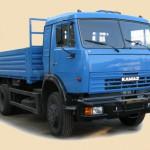 КАМАЗ 43253 синий