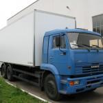КАМАЗ 65117 закрытый