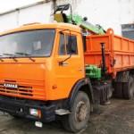 КАМАЗ самосвал 53229 с модернизацией