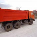 КАМАЗ самосвал 53229 зимой