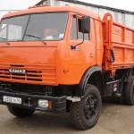 КАМАЗ сельхозник 55102 оранжевый