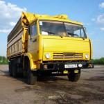 КАМАЗ сельхозник 55102 жолтый