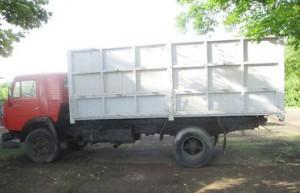 КАМАЗ зерновоз 43253 высокие борты